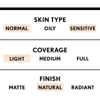 covergirl smoothers light coverage foundation with natural finish for normal to sensitive skin type