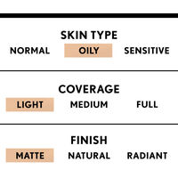 covergirl clean light coverage bb cream with matte finish for oily skin type
