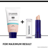 covergirl smoothers bb cream paired with smoothers concealer
