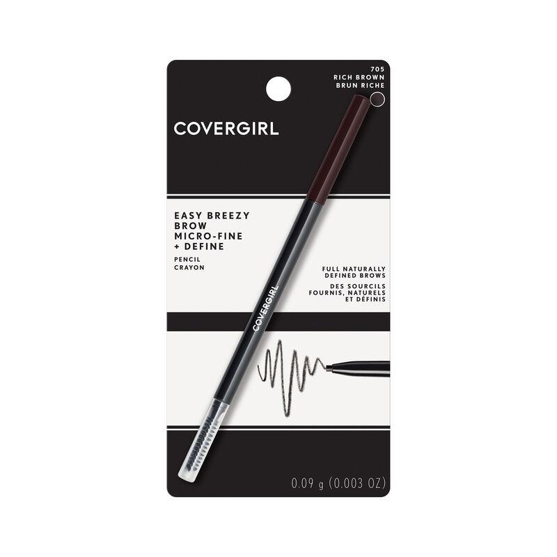 COVERGIRL Easy Breezy Micro-Fine Fill + Define Eyebrow Pencil {variationvalue}